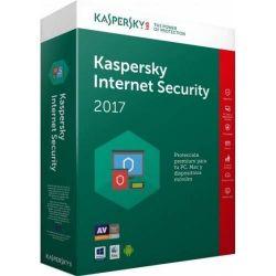 Antivirus KASPERSKY, Internet Security - Multi-Device, 3 utilizatori , 1 an + 3 luni