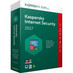 Antivirus KASPERSKY, Internet Security - Multi-Device, 2 utilizatori, 1 an