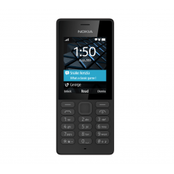 "Telefon NOKIA 150 2.4"" 240x320 pixels, 2G, Dual SIM, Negru, cameră spate 0.3 MP,"