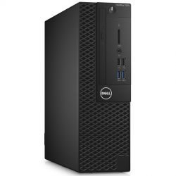 Dell Optiplex 3050 SFF, Intel Core i5-7500 (6MB Cache, 3.40GHz), 8GB (1x8GB) DDR4 2400MHz, 256GB 2.5inch SSD, Intel Graphics, DVD+/-RW, VGA video port, Dell USB Optical Mouse, KB216 Keybd, Windows 10 Pro (64bit), 3Yr NBD