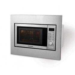 Cuptor cu microunde si grill HEINNER INC HMW-23BI, incorporabil, 23L, 800W, argintiu