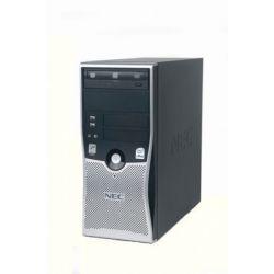 Calculator NEC Powermate VL280 Tower, Intel Core 2 Duo E2220, 2.40GHz, 4GB DDR2, 320GB SATA, DVD-RW
