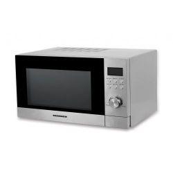 Cuptor cu microunde si grill HEINNER HMW-23GSS, 23L, 800W, argintiu