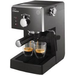 Espressor manual SAECO Poemia HD8423/19, capacitate 1.25L, 950W, negru