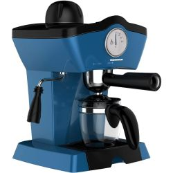 Espressor manual HEINNER Charm HEM-200BL, capacitate 0.25L, 800W, albastru