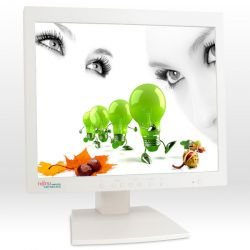 Monitor FUJITSU SIEMENS 462EFA, LCD, 18 inch, 1280 x 1024, 2 x VGA, Grad A-