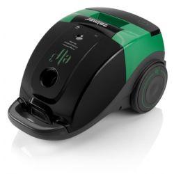 Aspirator cu sac ZELMER Elf3 ZVC165YF, capacitate 2.5L, 700W, negru/verde