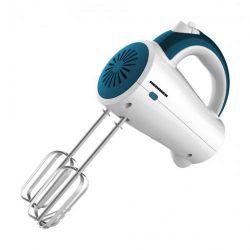 Mixer de mana HEINNER Charm HM-250BL, 5 viteze, 200W, alb/albastru