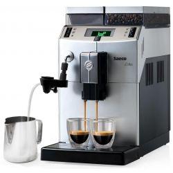 Espressor automat SAECO Lirika Silver Plus RI9841/01, capacitate 2.5L, 1400W, argintiu