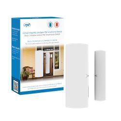 Contact magnetic inteligent PNI SmartHome SM420 pentru monitorizare usi si ferestre prin internet