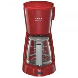 Cafetiera BOSCH CompactClass Extra TKA3A034, capacitate 1.25L, 10 cesti, 1100W, rosie