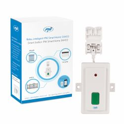 Releu inteligent PNI SmartHome SM433 pentru deschidere porti si usi cu actionare manuala sau prin internet