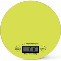 Cantar de bucatarie electronic ESPERANZA Mango ESP-EKS003G, 5kg, verde