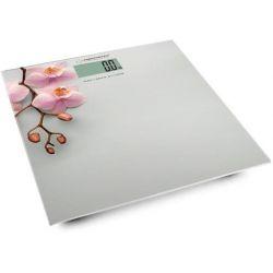 Cantar de persoane electronic ESPERANZA Orchid EBS010, 180kg, alb/roz