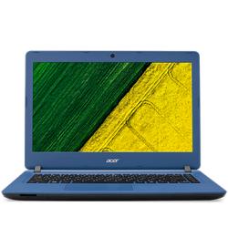 """ACER, Aspire ES1-332-C7F4, 13.3"""", HD non-Glare, Intel Celeron N3450, DDR3L 4GB (1x4), eMMC64GB, no ODD, Intel HD Graphics, HDMI, WiFi, BT 4.0, Gbit LAN, 3 cell batt., SD card reader, Windows 10 Home, Denim Blue, 2 yr"""
