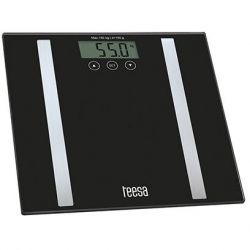 Cantar de persoane electronic TEESA Analyzer TSA0802, 150kg, negru