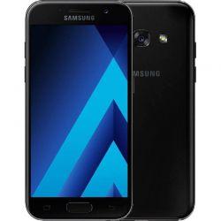 """Telefon SAMSUNG Galaxy A3 2017 DE 4.7"""" 1280x720 pixels, 2G, 3G, 4G, Dual SIM, Octa core, 2 GB RAM, stocare 16 GB, Negru, cameră față 8 MP, cameră spate 13 MP, Android 6.0 (Marshmallow)"""
