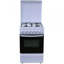 Aragaz HEINNER HFSC-50LITG, 4 zone de gatit, gaz, grill, alb