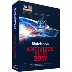 Antivirus BITDEFENDER Plus 2017,  3 utilizatori, 1 an
