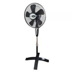 Ventilator cu picior KEMOT URZ3353, 38cm, 8 viteze, 55W, negru