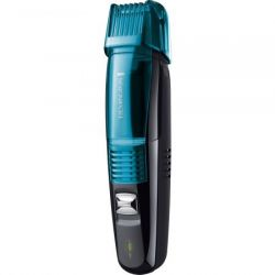 Aparat de tuns barba REMINGTON Vacuum Beard&Grooming Kit MB6550, 2-16mm, negru/albastru