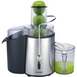 Storcator de fructe si legume HEINNER XF-1000SS, capacitate 1l, 1000W, argintiu
