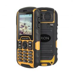 "Telefon KRUGER&MATZ Iron  2"" Dual SIM, Single core, 32 MB RAM, stocare 0.5 GB, Negru, cameră spate 0.3 MP,"