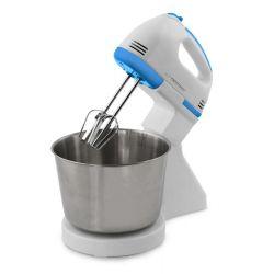 Mixer cu vas ESPERANZA Biscotti KM019W, 2.5l, 7 viteze, 150W, alb/albastru