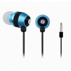 Casti cu microfon GEMBIRD MHS-EP-002 Albastre