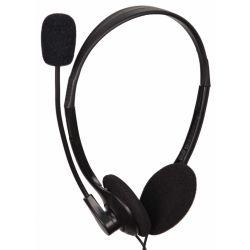 Casti cu microfon GEMBIRD MHS-123 clasice Negre