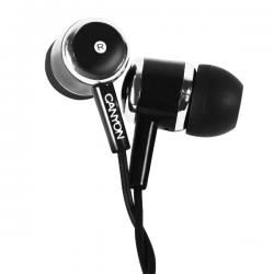 Casti cu microfon CANYON CNE-CEPM01B Stereo Negre