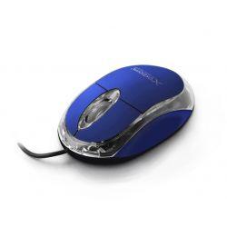 Mouse Optic EXTREME XM102B, Cu fir, USB, 1000 DPI, Albastru