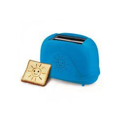 Prajitor de paine ESPERANZA Smiley EKT003B, 2 felii, 750W, albastru