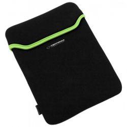 Husa ESPERANZA pentru tablete cu diagonala de 7'' Negru / Verde