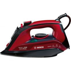 Fier de calcat BOSCH Sensixx'x DA50 EditionRosso TDA503011P, 45 g/min, 3000W,  negru/rosu