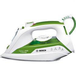 Fier de calcat BOSCH Sensixx'x DA50 ProEnergy TDA502412E, 180g/min, 2400W, alb/verde