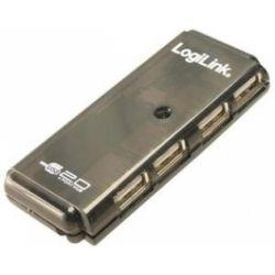 "HUB USB 2.0 extern,  4*USB,  Logilink, black ""UH0001A"""