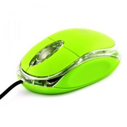 Mouse Optic TITANUM TM102G USB, cu fir, 1000 Dpi, verde