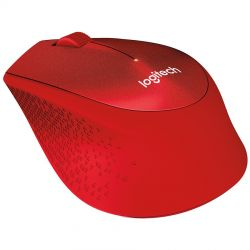 Mouse Wireless LOGITECH M330 Silent Plus Rosu