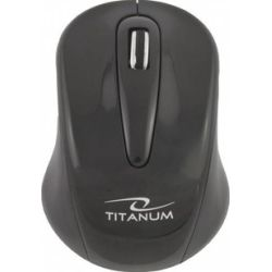 Mouse optic TITANUM TM104K TORPEDO 3D, Wireless, 2.4 Ghz, 1000 Dpi, Negru