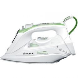 Fier de calcat Bosch TDA702421E ProEnergy, 45 g/min, 2400W, alb/verde