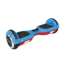 Scooter electric SKYMASTER Wheels Dual 6, Albastru-Rosu