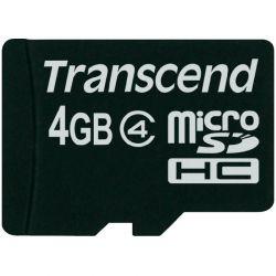 Card de memorie TRANSCEND microSDHC 4GB
