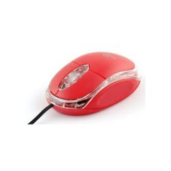 Mouse optic TITANUM TM102R USB, Cu fir, 1000 Dpi, Rosu