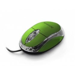 Mouse optic EXTREME XM102G, Cu fir, USB, 1000 DPI, Verde