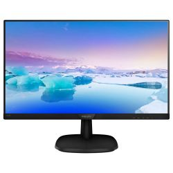 Monitor LED Philips 243V7QDSB/00 23.8 inch 5ms Negru
