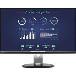 Monitor LED Philips 258B6QUEB/00 25 inch 2K 5 ms Negru