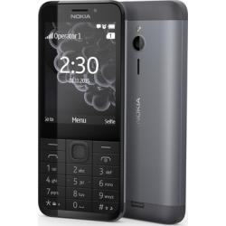 """Telefon NOKIA 230  2.8"""" 480x640 pixels, 2G, Dual SIM, 16 MB RAM, Negru, cameră față 2 MP, cameră spate 2 MP,"""
