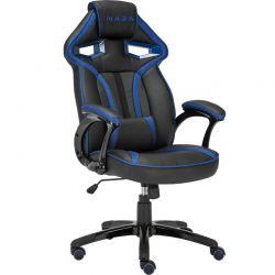 Scaun de gaming INAZA Cobra Negru/Albastru