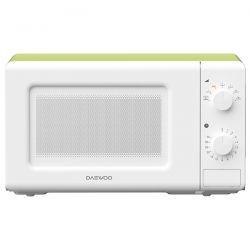 Cuptor cu microunde DAEWOO KOR-6S20WG, 20l, 700W, alb/verde